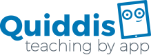 Logo Quiddis teaching by App