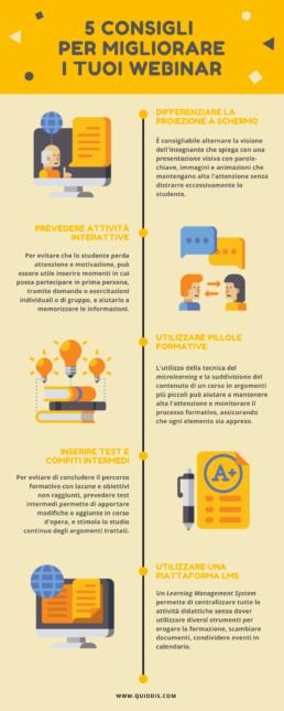 5 consigli migliorare webinar